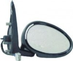 Rover 25 [99-06] Complete Electric Adjust Wing Mirror Unit - Black Paintable